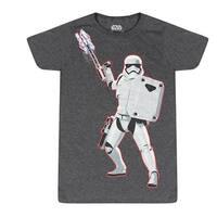 Star Wars Stormtrooper On Sight Men's Grey T-shirt