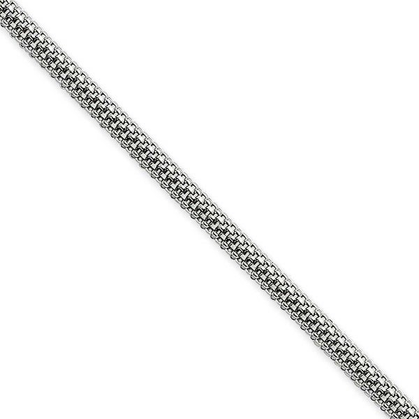 Chisel Stainless Steel 3.2mm 24 Inch Bismark Chain (3.2 mm) - 24 in
