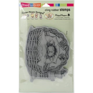 Stampendous House Mouse Cling Stamp -Quick Recovery