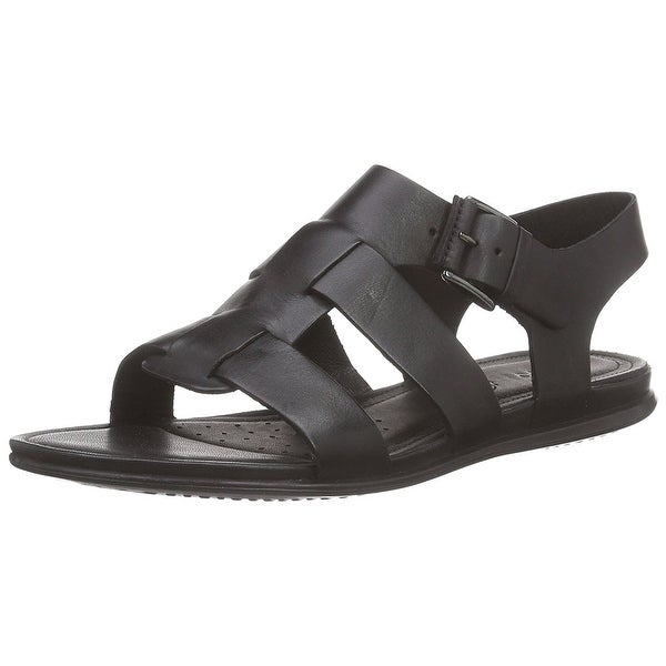 926d427f099 Shop ECCO Womens touch Leather Open Toe Casual Gladiator Sandals ...