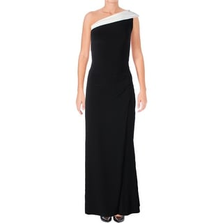 Lauren Ralph Lauren Womens Turianna Evening Dress Two-Tone Front Slit (More  options available