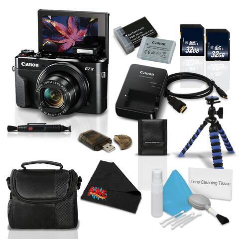 Canon PowerShot G7 X Mark II Digital Camera w/1 Inch CMOS Sensor Tilt