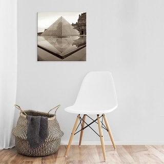 Easy Art Prints Alan Blaustein's 'Paris #8' Premium Canvas Art