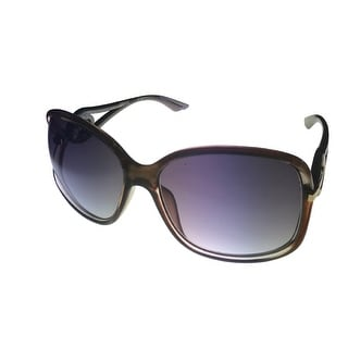 Kenneth Cole Reaction Womens Plastic Sunglass Taupe/ Gradient Lens KC1232 50B - Medium