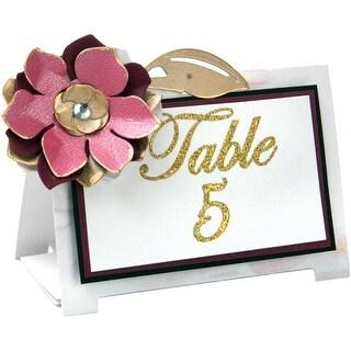 Sizzix Thinlits Dies 4/Pkg By David Tutera-Floral Table Tent