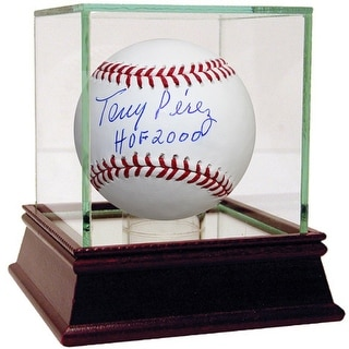 Tony Perez MLB Baseball w HOF 2000 Inscription