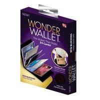 Wonder Wallet WL011124 Wallet, Leather, Black