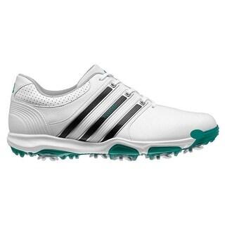 Adidas Men's Tour 360 X Running White/Core Black/Power Green Golf Shoes Q44585