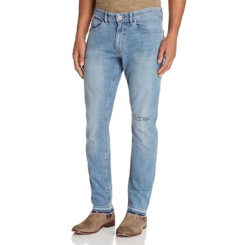 Paige Mens Lennox Skinny Jeans Slim Fit Denim