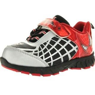 Marvel Boys Spf415 Spider-Man Fashion Sneakers - Black/Red
