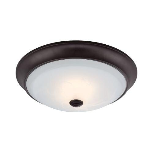 Designers Fountain LED1002 Cirrus 1 Light LED Flush Mount Ceiling Fixtures