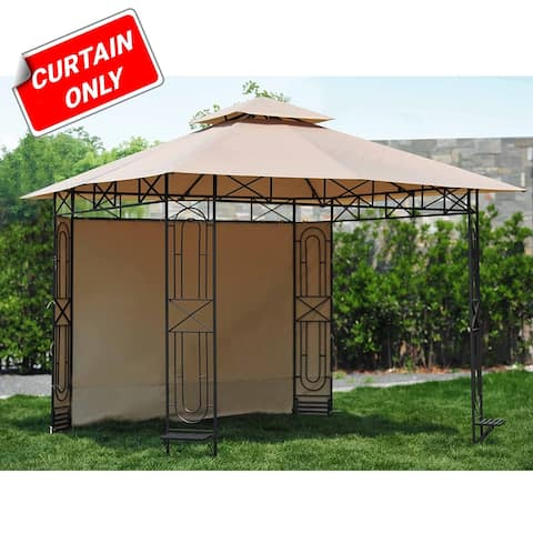 Sunjoy Replacement Curtain for Gazebo Model L-GZ071PST-3