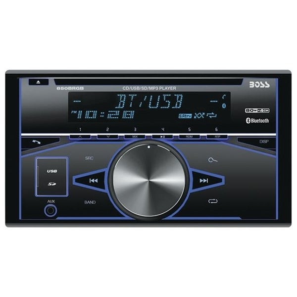 SCY AVA-850BRGB 2x Din CD MP3 Receiver
