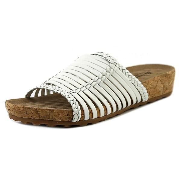 Walking Cradles Piece Women Open Toe Leather Slides Sandal
