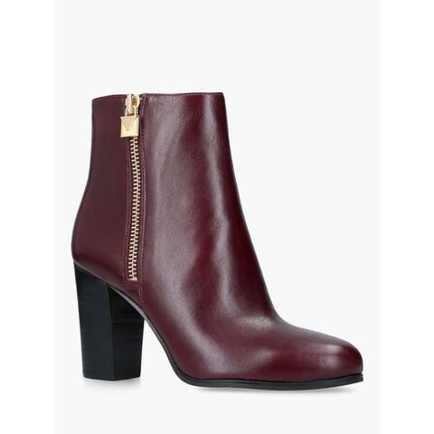 Michael Michael Kors Womens Margaret Bootie Closed Toe Mid-Calf Fashion Boots