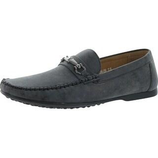 J's Awake Mens Dalton-29 Slip On Loafers Moccasins