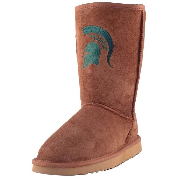 Gameday Boots Womens Michigan State Roadie Hickory MST-RL1033-1