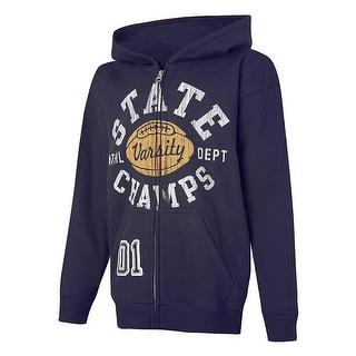 Hanes EcoSmart State Champs Full-Zip Hoodie Sweatshirt - XL