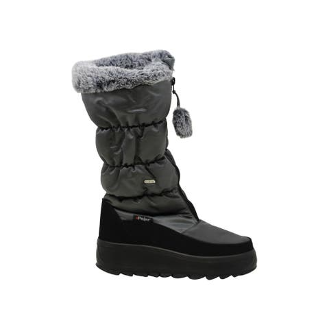 Pajar CANADA Womens Toboggan 2 Closed Toe Mid-Calf Cold Weather Boots
