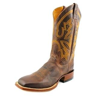 Rod Patrick Perro Loco Men C Round Toe Leather Brown Western Boot