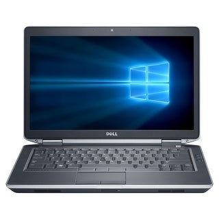 "Refurbished Dell Latitude E6430S 14.0"" Laptop Intel Core i5 3320M 2.6G 4G DDR3 750G DVD Win 10 Pro 1 Year Warranty - Black"