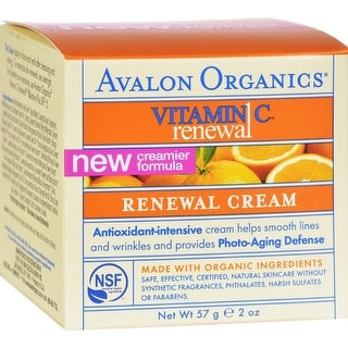 Avalon Organics - Renewal Facial Cream With Vitamin C ( 1 - 2 OZ)