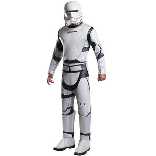 Rubies Deluxe Flametrooper Adult Costume - White