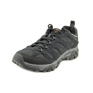 Merrell Moab Ventilator Men W Round Toe Suede Black Hiking Shoe