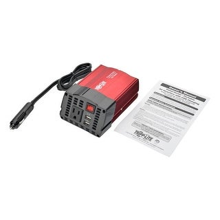 Tripp Lite Pv150usb 150W Powerverter Ultra-Compact Car Inverter With Ac Outlet