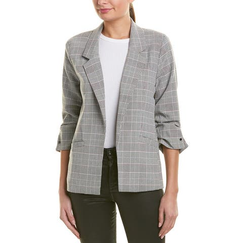 Kut From The Kloth Rafaella Plaid Blazer