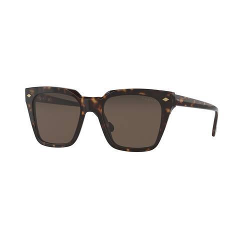 Vogue VO5380S W65673 50 Dark Havana Man Pillow Sunglasses