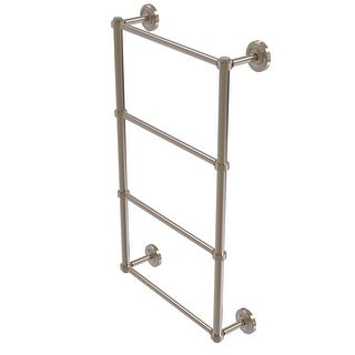 Allied Brass Prestige Regal Collection 4 Tier Ladder Towel Bar with Groovy Detail