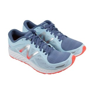 New Balance Fresh Foam Zantev2 Womens Blue Mesh Athletic Running Shoes
