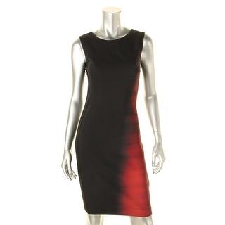 Elie Tahari Womens Emory Printed Sleeveless Wear to Work Dress - 2