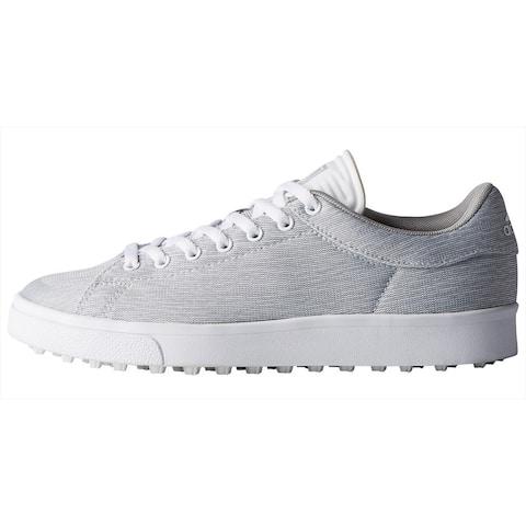 Adidas Junior Adicross Classic Light Grey Heather/Cloud White/Grey Golf Shoes DA9138