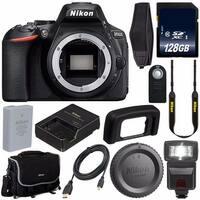 Nikon D5600 DSLR Camera (Body Only) Starter Bundle