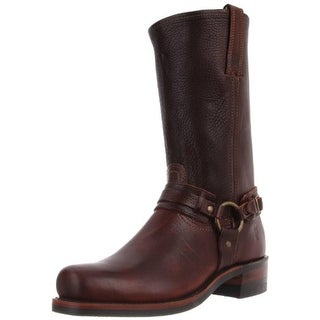 Frye Mens Leather Belted Harness Boots - 8 medium (d)