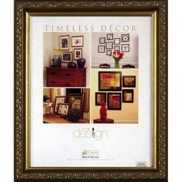 Timeless Frames 78210 Carrington Gold Wall Frame 16 X 20 In Free