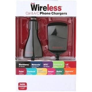 Just Wireless 705954200734 Universal Car/Home Micro USB Charger (Refurbished)