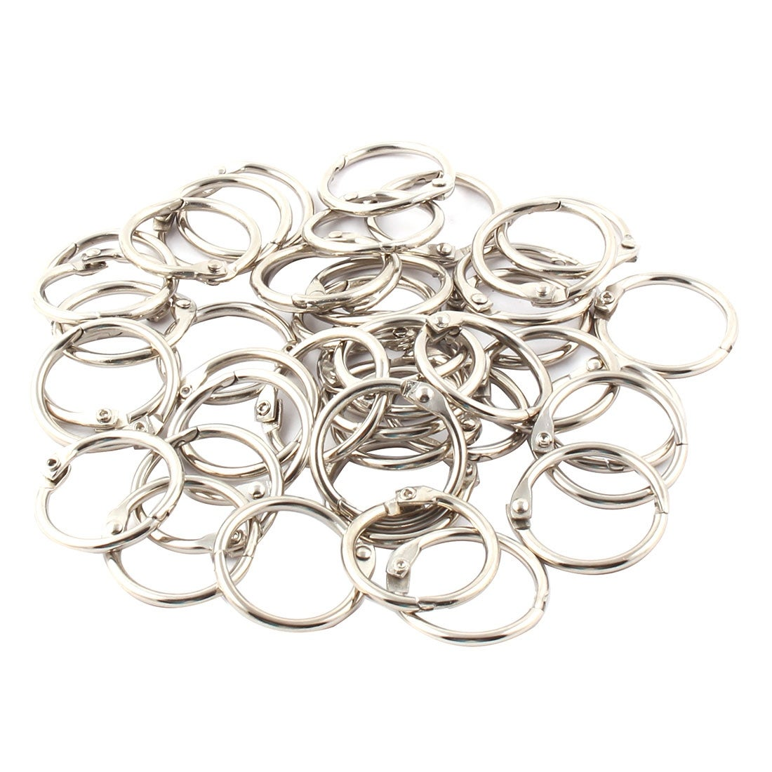 Shop Unique Bargainshandbag Wallet Free Diy Keyring Key Chain Split Loop Holder 26mm Inner Dia 43pcs Overstock 18450492