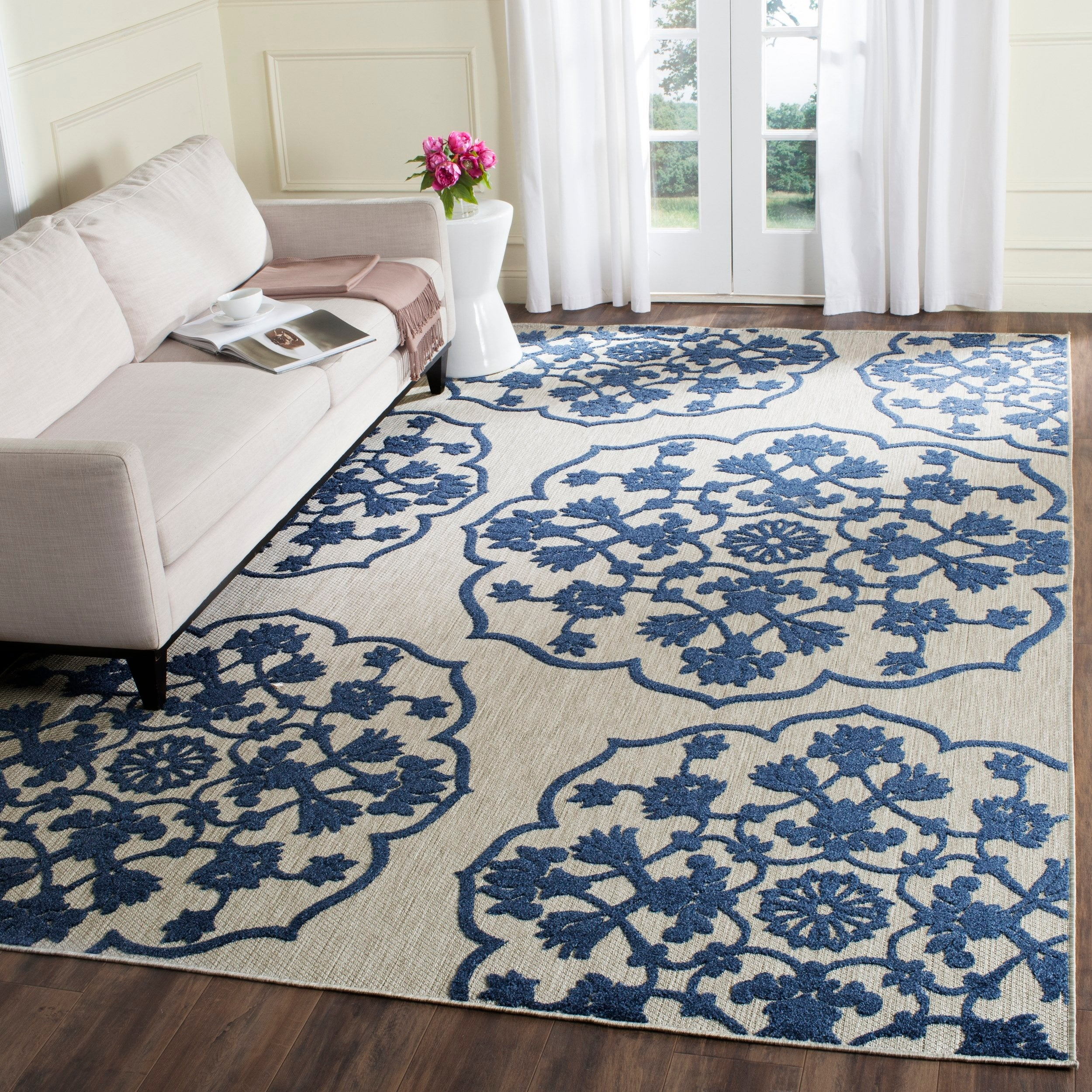 Safavieh Cottage Loyce Indoor Outdoor Rug Overstock 10273428