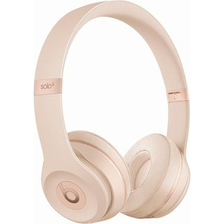 Beats by Dr. Dre - Beats Solo 3 Wireless Headphones Satin Gold