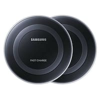 Fast Charge Wireless Charging Pad (2-Pack), Black Fast Charge Wireless Charging Pad (2-Pack), Black