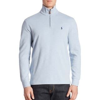 Polo Ralph Lauren Big and Tall Half Zip Pullover Sweater Light Blue (Option: 2xlt)|https://ak1.ostkcdn.com/images/products/is/images/direct/05d7be90e118db4da7b427dd288677e010264821/Polo-Ralph-Lauren-Big-and-Tall-Half-Zip-Pullover-Sweater-Light-Blue.jpg?impolicy=medium