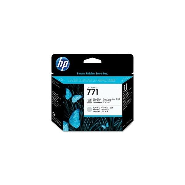 HP 771 Original Printhead Black & Light Gray (CE020A)(Single Pack)