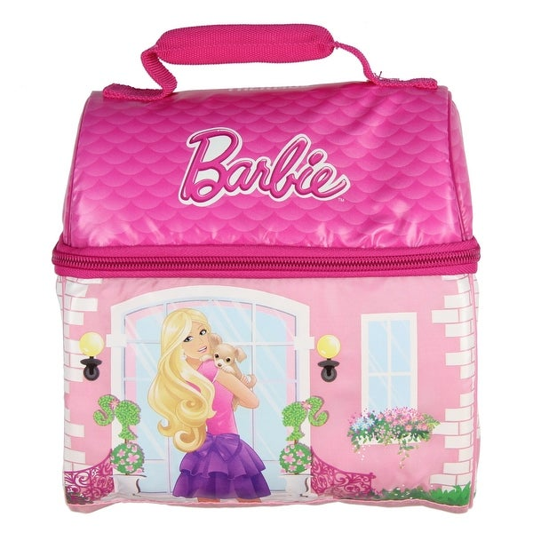 Shop Thermos Novelty Lunch Kit Barbie Dream House Free Shipping
