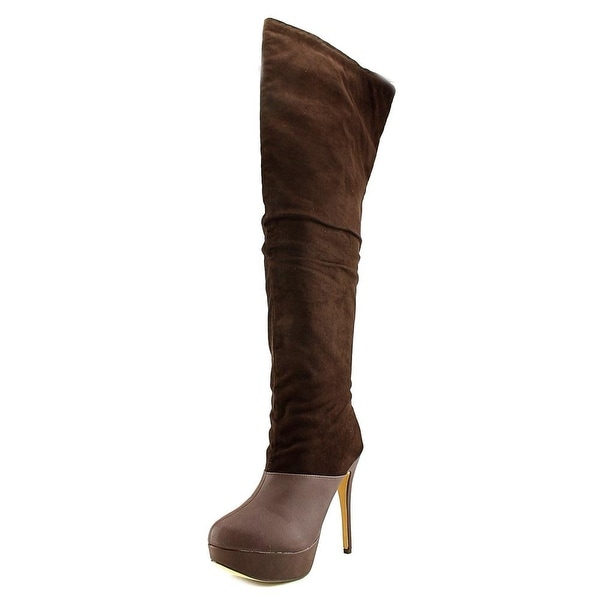 Michael Antonio Hesper Slouch Women  Round Toe Synthetic  Over the Knee Boot