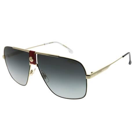 Carrera Navigator CA Carrera1018 Y11 9O Unisex Gold Frame Grey Gradient Lens Sunglasses