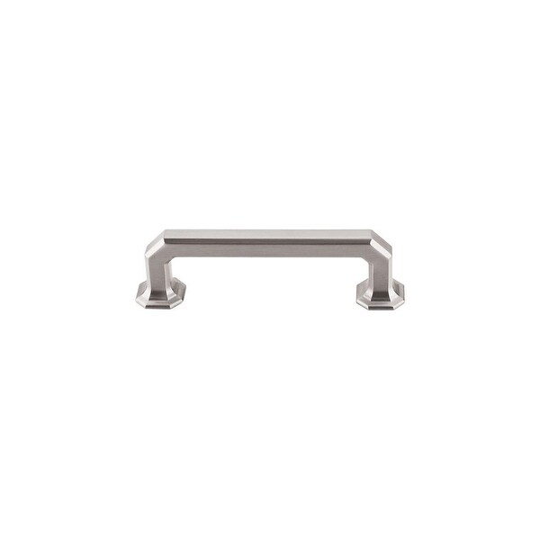 """Top Knobs TK287 Emerald 3-3/4"""" Center to Center Handle Cabinet Pull from the Chareau Series - n/a"""