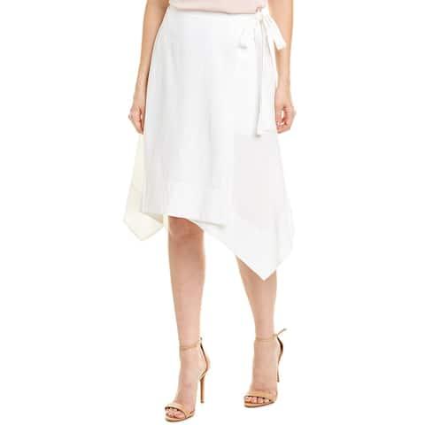 Bcbgmaxazria Asymmetric Wrap Skirt